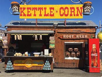 Kettle Corn Trailer